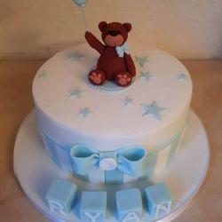 Balloon and Bear Cake