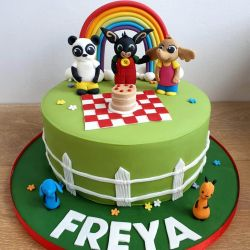Bing and Friends Cake