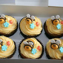 Bumblebee Cupcakes. £2 each