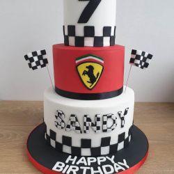 Formula One 3 Tier Cake