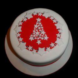 Christmas Star Tree Cake. 20-25 portions. £45
