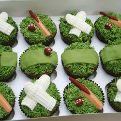 Cricket Cupcakes. £2 each
