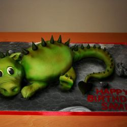 Dinosaur Cake. 20-25 portions. £55