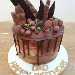 Chocolate Drip 3 Layer Cake