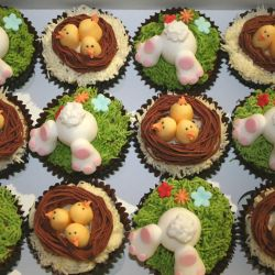 Easter Cupcakes. £2 each