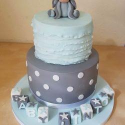 Eeyore Baby Shower Cake