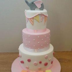Elephant 3 Tier Cake