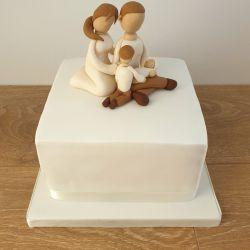 Family Baby Shower Cake