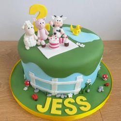 Farmyard Picnic Cake