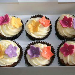 Flower Cupcakes. £2 each