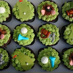 Golf cupcakes. £2 each