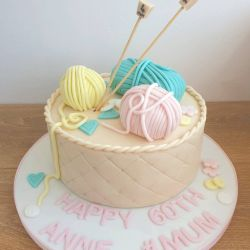 Knitting Quilted Cake