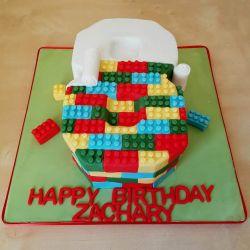 Lego Number Cake