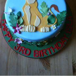 Lion King Cake. 20-25 portions. £50