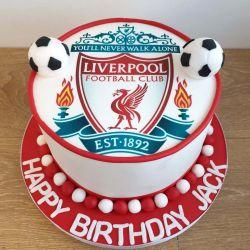 Football Club Cake