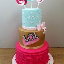 Lol Surprise 3 Tier Cake