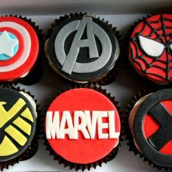 Marvel Cupcakes. £2 each