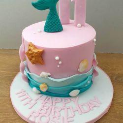 Mermaid Single Tier Cake