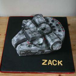 Millennium Falcon Cake. 25-28 portions. £55
