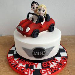 Mini Car Cake