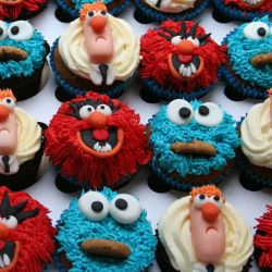 Muppet Cupcakes. £2 each