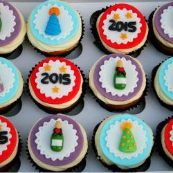 New Years Cupcakes. £2