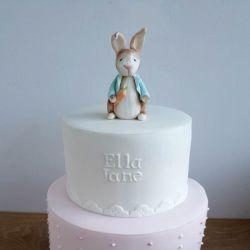 Pink Peter Rabbit Cake