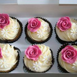 Rose Cupcakes. £2 each
