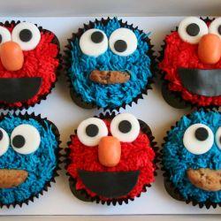 Sesame Street Cupcake. £2 each