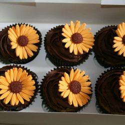 Sunflower Cupcakes. £2 each