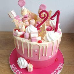 Sweetie Drip 3 Layer Cake